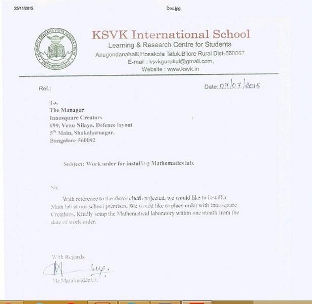 KSVK International School